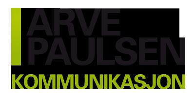 Arve Paulsen Kommunikasjon Logo